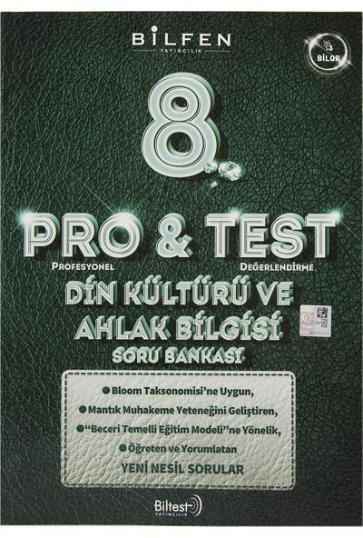 Bilfen Yayınları 8. Sınıf LGS Pro & Test Din Kültürü Ve Ahlak Bilgisi Soru Bankası