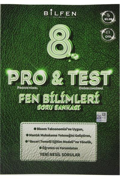 Bilfen Yayınları 8. Sınıf LGS Pro & Test Fen Bilimleri Soru Bankası