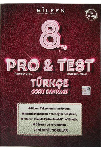 Bilfen Yayınları 8. Sınıf LGS Pro & Test Türkçe Soru Bankası