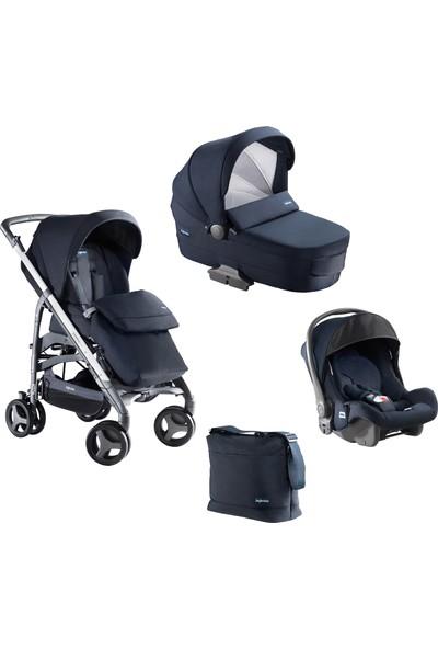 Inglesina Zippy Pro Travel Sistem Bebek Arabası 4'lü Set / Marina