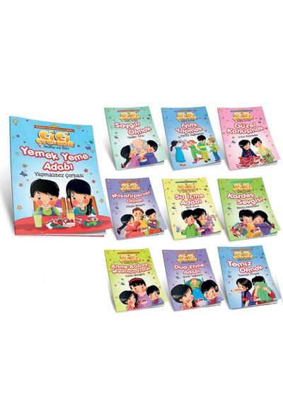 Cici Çocuklar Davranış Eğitimi Seti (10 Kitap) - Nezihe Ak İnci