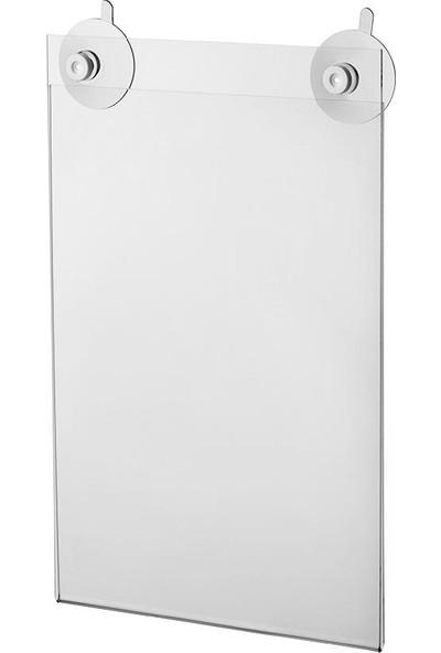 Vkf Renzel Vantuzlu Akrilik Cep (Dikey Formatlı)