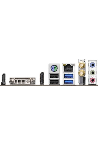 ASRock H310CM-ITX/ac Socket 1151, DDR4 2666MHz, USB 3.1 Gen1, HDMI, DVI, DP mATX Anakart (ASRH310CM-ITXAC)