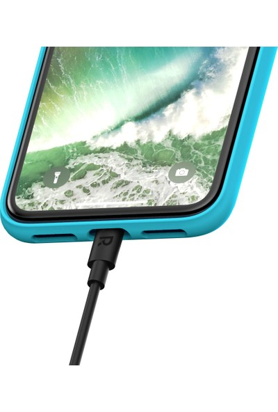 RAVPower RP-CB030 1 metre Apple MFI Lisanslı Lightning Şarj/Data Kablosu Siyah, 75-01000-164