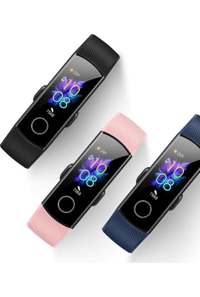 Honor Band 5 Su Geçirmez AMOLED Ekran Akıllı Bileklik Saat (İthalatçı Garantili) - Siyah