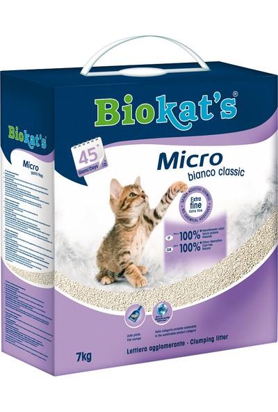 Biokat's Micro Bianco Kedi Kumu 7kg