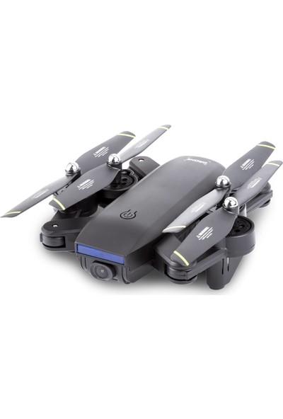 Aden E59S 1080P Full HD Kamera VPS Sensörlü Drone (3 Bataryalı Set)