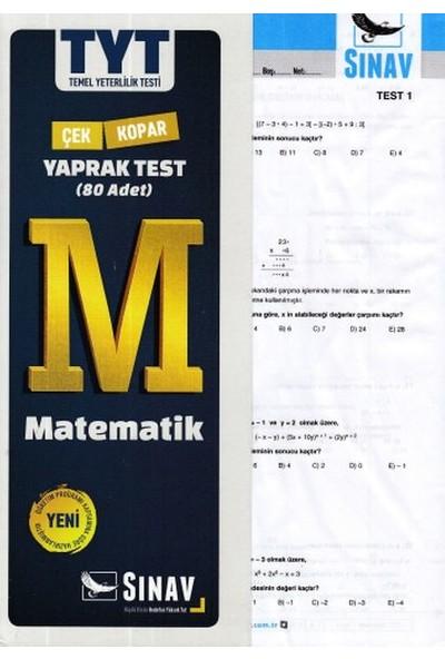 Sınav Yayınları TYT Matematik Yaprak Test