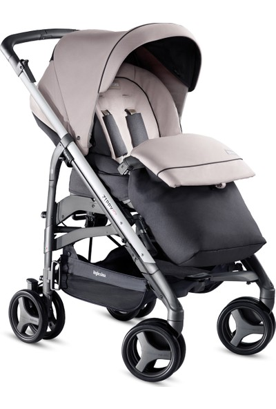 Inglesina Zippy Pro Travel Sistem Bebek Arabası 4'lü Set / Granito