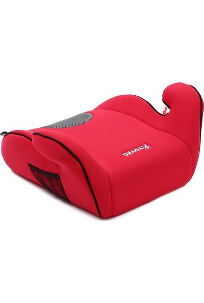 Yoyko 15 - 36 kg Oto Koltuğu Yükseltici Booster Kırmızı