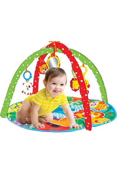 Babies Sevimli Orman Bebek Oyun Halısı Aynalı Müzikli