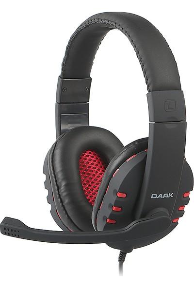 Dark GH100 Stereo Oyuncu Kulaküstü Mikrofonlu Kulaklık (DK-AC-GH100)