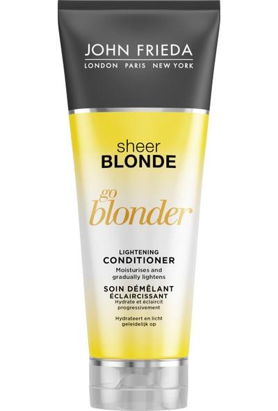 John Frieda Sheer Blonde Go Blonder Conditioner Saç Kremi 250 Ml