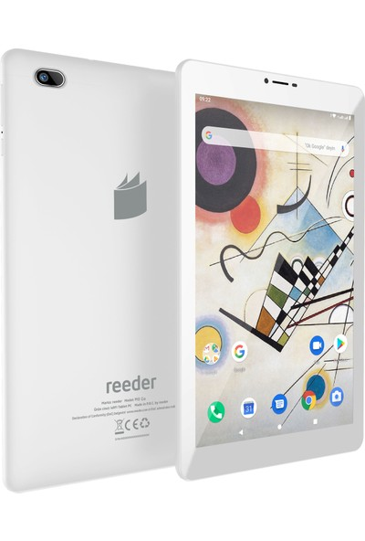 "Reeder M8 Go 8GB 8"" IPS Tablet Beyaz"