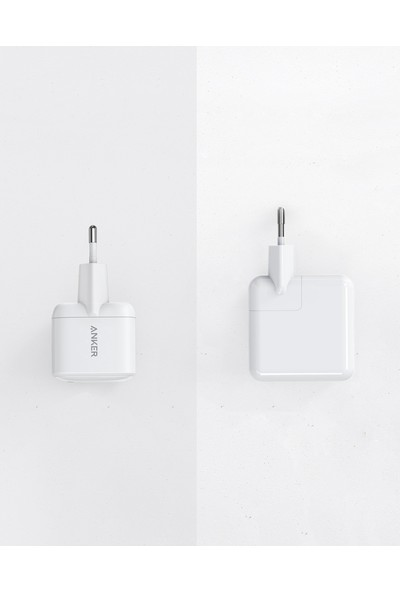 Anker Atom PowerPort PD 1 Type-C 30W Ultra Küçük Power Delivery USB-C Hızlı Şarj Aleti (Telefon-Laptop-Tablet tüm cihazlarla uyumlu) - A2017
