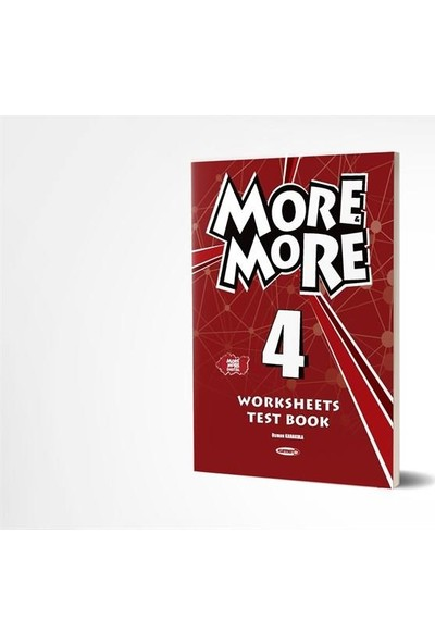 Kurmay Yayınları 4.Sınıf More and More Home Work Test Book