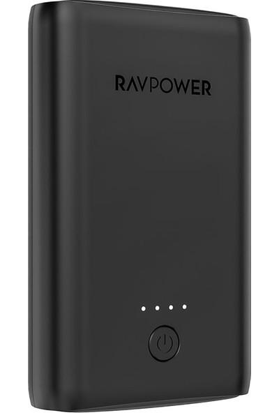 RAVPower RP-PB170 Çift 2.4A Çıkış 10050mAh Taşınabilir Şarj Cihazı Powerbank Siyah, 65-02000-393