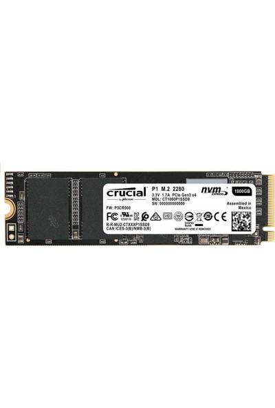 Crucial P1 1TB 1000 - 1999 MB/s 3D NAND NVMe PCIe M.2 SSD - CT1000P1SSD8