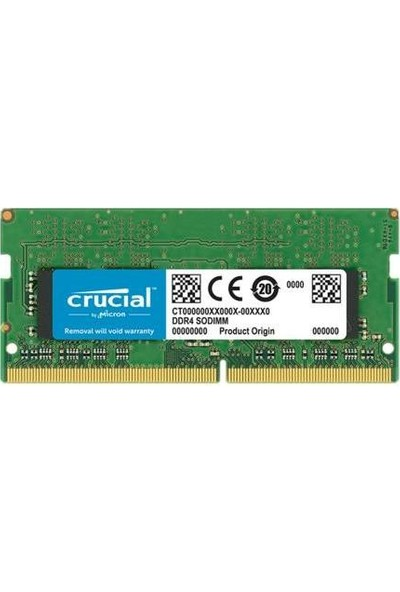 Crucial 4GB 2400Mhz DDR4 SODIMM Basics Series CB4GS2400