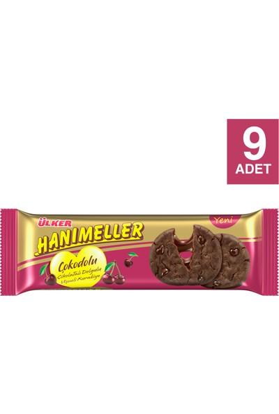 Ülker Hanımeller Çokodolu Vişneli 90 gr x 9