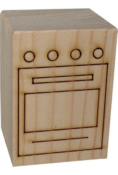 Ağaç Minyatür Fırın - KOD:ÇG28