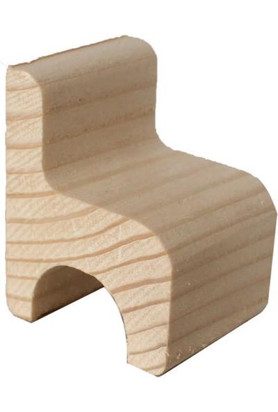 Ağaç Minyatür Sandalye - KOD:ÇG22