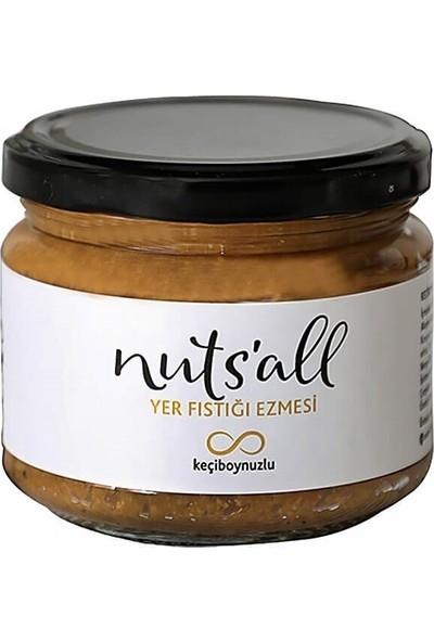 Nuts'all Keçiboynuzlu Fıstık Ezmesi 280 gr