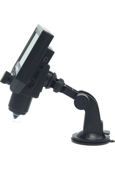 Powermaster G600 4.3'' LCD Ekranlı 1-600X 3.6mp Hd Dijital Şarjlı Mikroskop