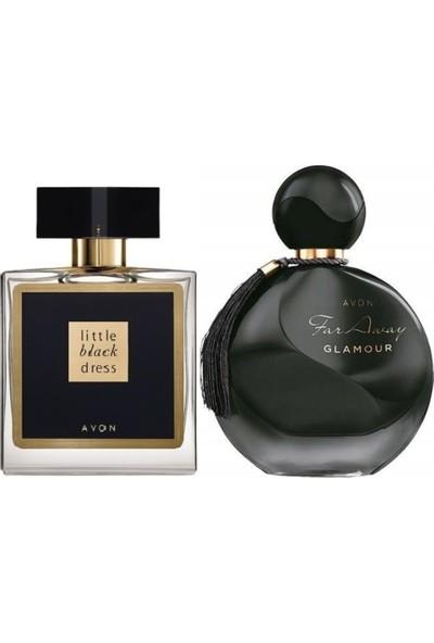 Avon Little Black Dress Bayan Parfüm Edp 50 Ml+Far Away Glamour