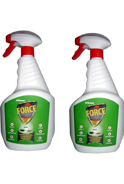 Chrysamed Force 1 lt 2'li Ürün