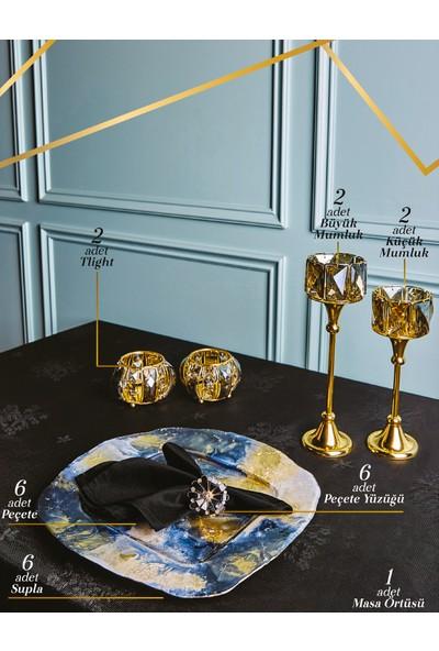 Karaca Black Gold Aksesuar Seti 25 Parça