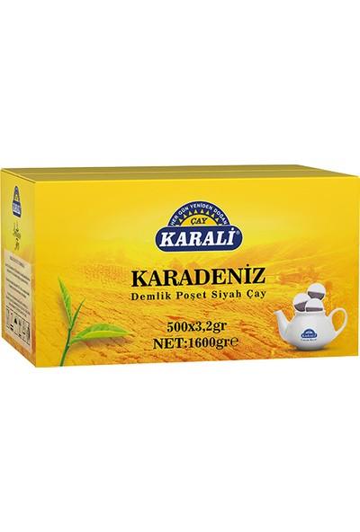 Karadeniz Demlik Poşet Siyah Çay 500x3,2 gr