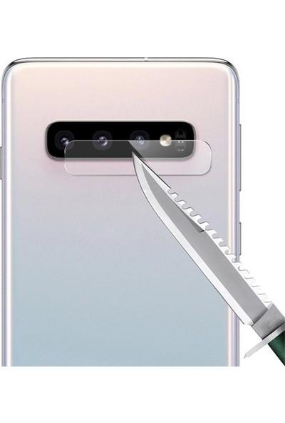 Ehr. Samsung Galaxy S10 Plus Kamera Koruyucu Cam Darbe Önleyici Kamera Koruyucu Şeffaf