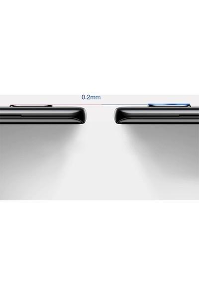 Ehr. Samsung Galaxy A80 Kamera Koruyucu Cam Darbe Önleyici Kamera Koruyucu Şeffaf