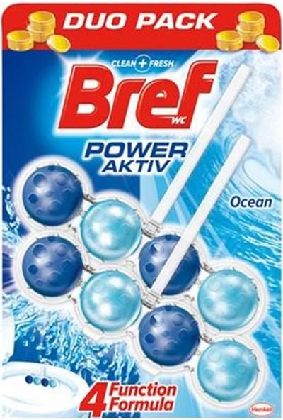 Bref Power Aktif Okyanus Katı Klozet Blok 2'li Paket 5'li Set