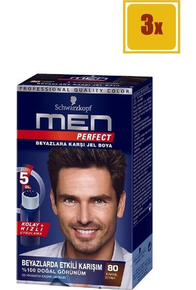 Schwarzkopf Men Perfect 80 Siyah Kahve Saç Boyası