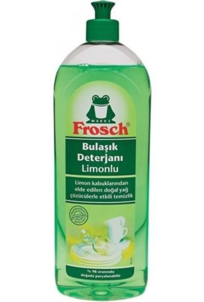 Frosch 750 ml Balsami Limonlu Bulaşık Deterjanı 3'lü Set