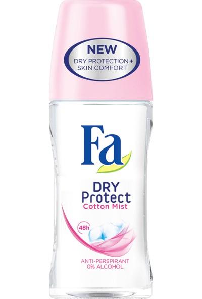 Fa 50 ml Dry Protect Cotton Kadın Roll On 3'lü Set