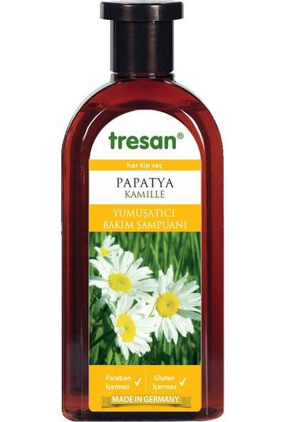 Tresan Papatya Özlü 500 ml Şampuan 3'lü Set