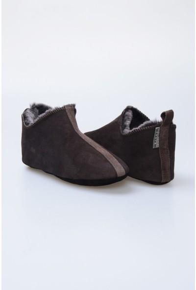 Pegia Kürk Kadın Ev Ayakkabısı 980515