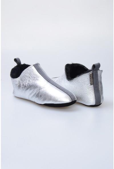 Pegia Kürk Kadın Ev Ayakkabısı 980545