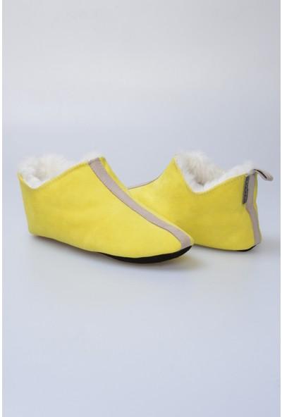 Pegia Kürk Kadın Ev Ayakkabısı 980561