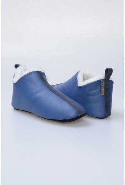 Pegia Kürk Kadın Ev Ayakkabısı 980562