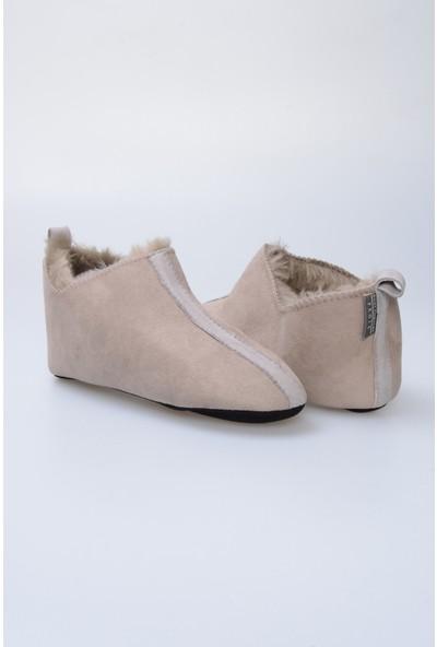 Pegia Kürk Kadın Ev Ayakkabısı 980587