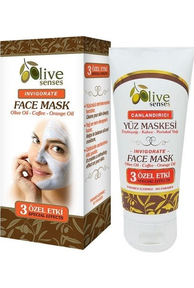 Olive Senses Canlandırıcı Yüz Maskesi