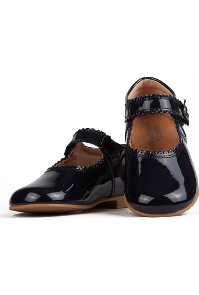 Angelitos Kız Çocuk 1501 Kifidis Hakiki Deri Ayakkabı