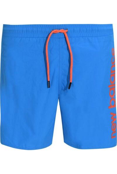 New Balance Erkek Yüzücü Şortu Mavi