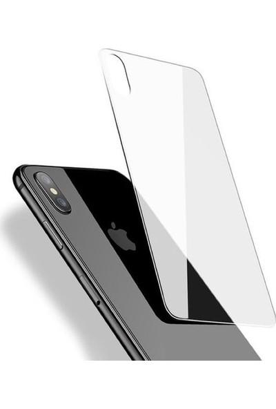 Cayka Apple iPhone XS Arka Nano Glass Koruma