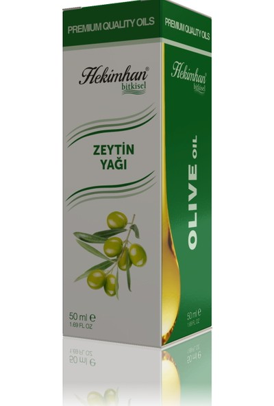 Hekimhan Bitkisel Zeytin Yağı 50 ml
