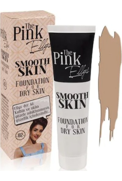 The Pink Ellys Smooth Skin Foundation For Dry 02